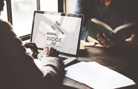 Judge Justice Judgement Legal Fairness Law Gavel Concept