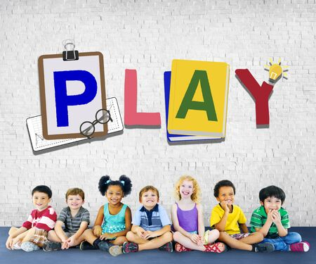 recreation: Play Leisure Activity Recreation Entertainment Playing Concept