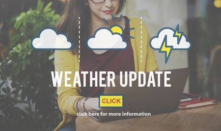 prediction: Weather Update Information Prediction Climate Daily Concept Stock Photo