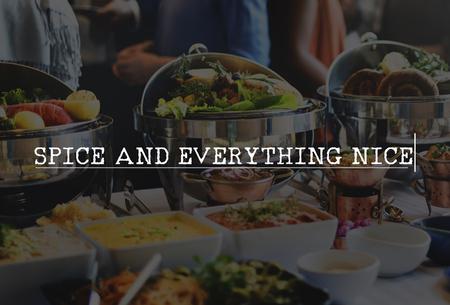nice food: Специи и все хорошо Food Party стол для гурманов Концепция