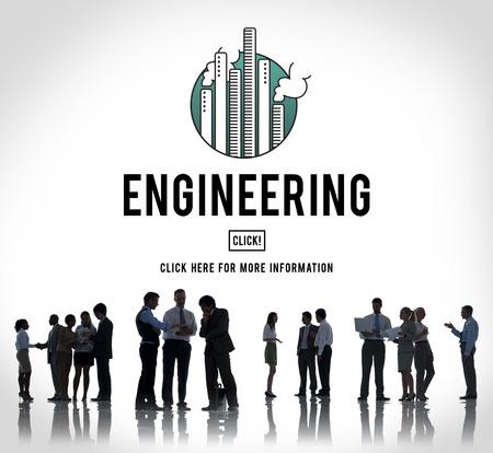 professional occupation: Engineering Create Ideas Occupation Professional Concept