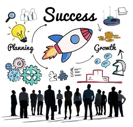 innovation growth: Success Startup Innovation Growth Improvement Concept