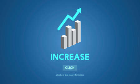 expansion: Increase Growth Rise Elevation Enlarge Expansion Concept Stock Photo