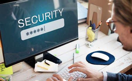 log in: Security Sign Log In Up Password Secret Concept