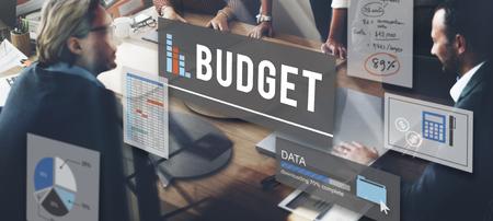 cash flow: Budget Finance Cash Flow Profit Concept