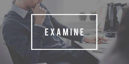 examine: Examine Survey Brainstorm Check Analyse Assess Concept
