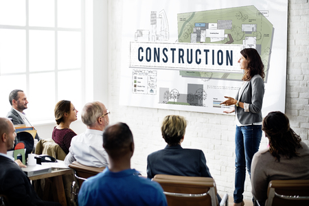 place to learn: Construction Industry Building Architecture Infrastructure Concept