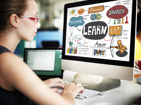 place to learn: Learn Learning Development Education Knowledge Concept Stock Photo