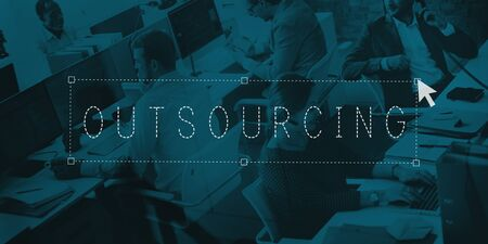 outsource: Outsourcing Outsource Manpower Subcontract Concept