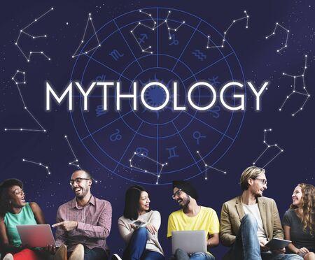 observable: Mythology Cosmos Universe Star Concept Stock Photo