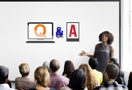 Q & A Information Help Response Reply Explanation Concept