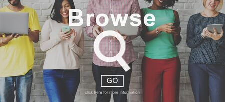 browse: Browse Searching Finding Discover Search Browsing Concept