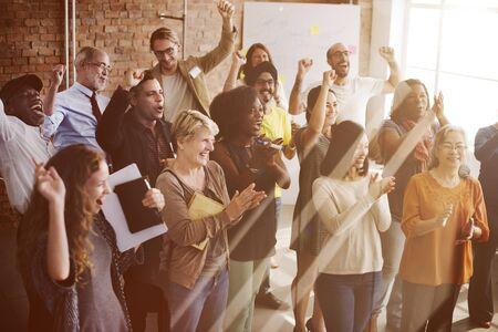 Corporations: Business Corporation Organization Teamwork Concept