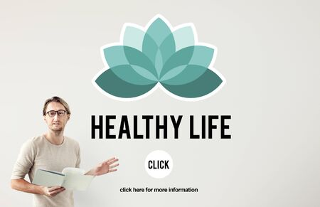 personal decisions: Healthy Life Vitality Physical Nutrition Personal Development Concept Stock Photo