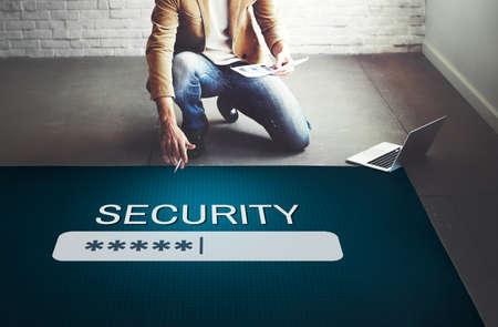 secret place: Security Sign Log In Up Password Secret Concept