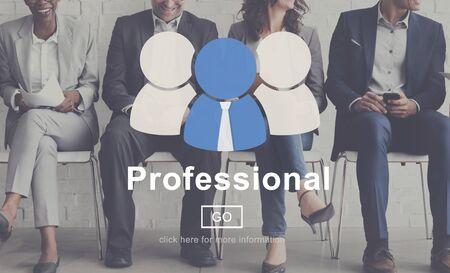 leading: Professional Skill Development Expert Leading Concept