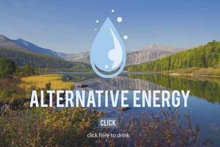 h2o: Clean Water Alternative Energy H2o Concept