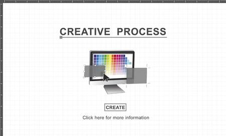 inspiration: Creative Process Design Imagination Inspiration Concept