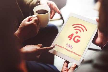 4g: 4G Wireless Online Technology Wifi Network Concept