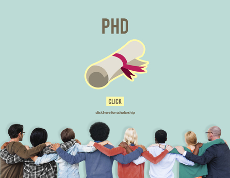 philosophy: PhD Doctor of Philosophy Degree Education Graduation Concept Stock Photo