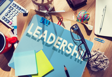 authoritarian: Lead Leadership Marketing Messy Table Concept
