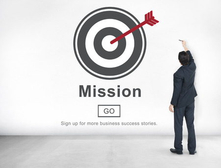 core strategy: Mission Objective Goals Target Vision Strategy Concept