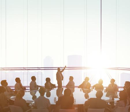 Colleagues Connection Business Teamwork Concept