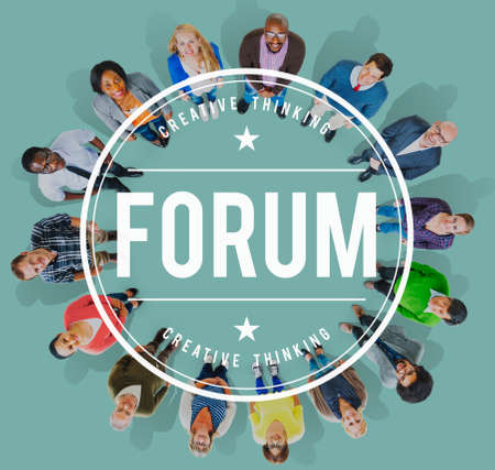 message board: Forum Discussion Communication Information Concept