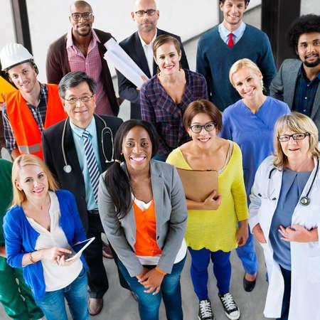 occupation: People Career Occupation Job Team Corporate Concept