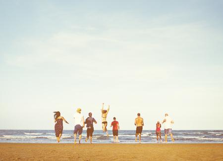 free vote: Beach Chill Emotion Enjoyment Fun Friends Concept