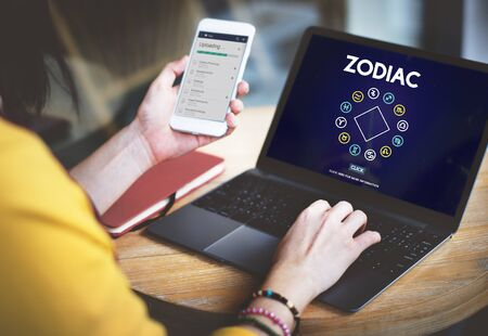 astronomy: Zodiac Historic Prediction Astronomy Concept