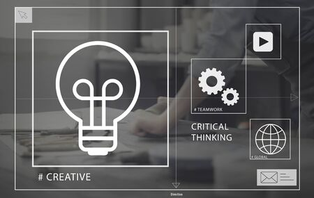working place: Ideas Creative Creativity Critical Thinking Inovation Concept