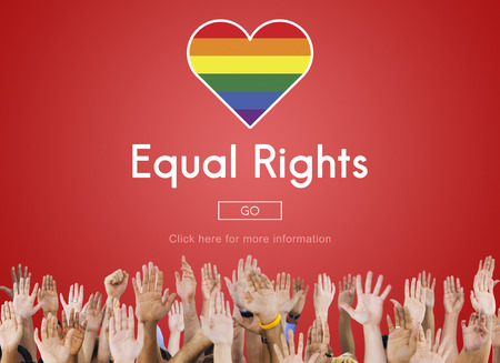 Gay LGBT Equal Rights Homosexuality Concept