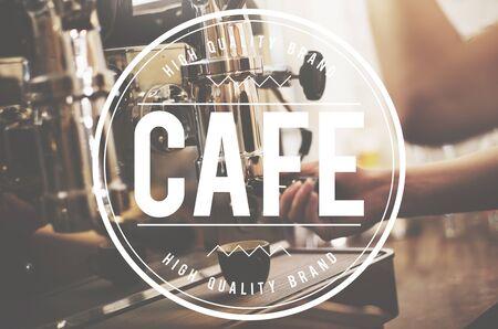 coffe break: Cafe Coffee Shop Break Leisure Relax Concept Stock Photo