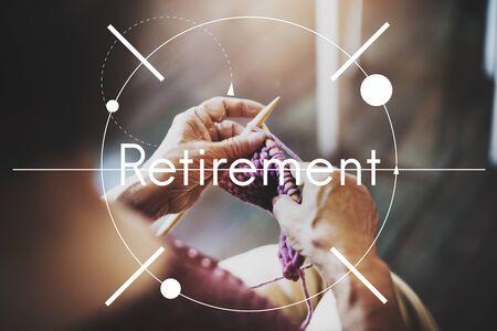pension: Retirement Insurance Lifestyle Pension Concept