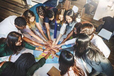 solidaridad: Concepto compañero de equipo Solidaridad grupo de la comunidad