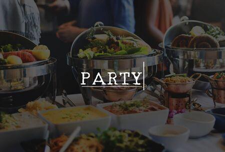 cuisine entertainment: Party Celebration Event Entertainment Concept