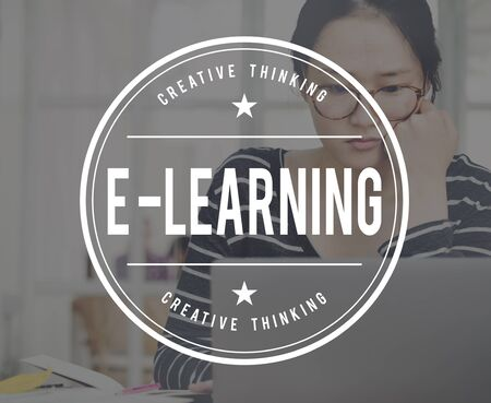 instructional: E-learning Education Online School Concept