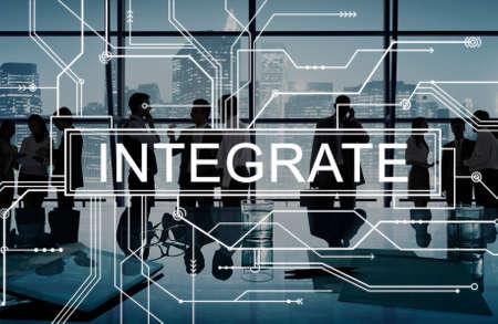 Integreer Circuit Board Graphics Concept