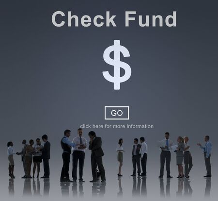 funds: Check Funds Finance Internet Technology Concept