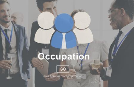 manpower: Occupation Career Employee Manpower Work Concept