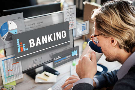 banking concept: Banking Finance Savings Management Concept