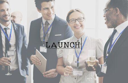 empezar: Lanzamiento Kick Off de inicio Comience Start Concept