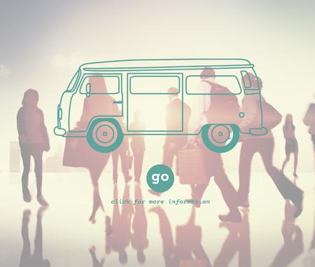 Car Transportation Travelling Vehicle Trip Concept Stok Fotoğraf
