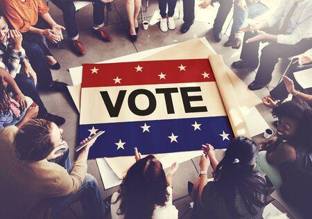voting: Vote Voting Election Politic Decision Democracy Concept