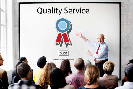 Quality Service Assistance Care Customer Concept Stock Photo