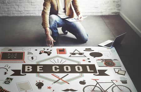 trends: Be Cool Fashion Trends Stylish Trendy Chic Creative Concept
