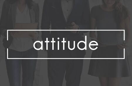 PERSONALITY: Attitude Personality Character Identity Concept