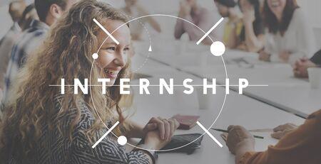 internship: Internship Learning Career Preparation Concept