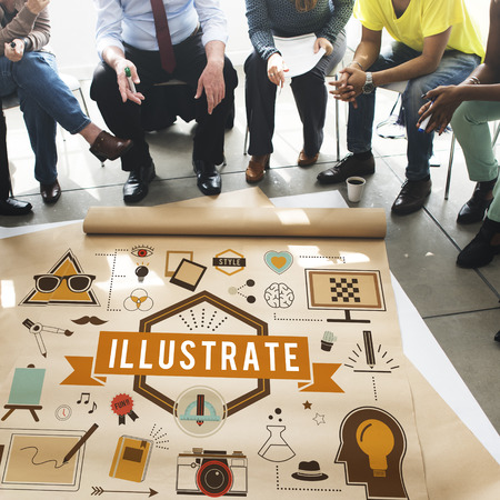 Illustrative Illustration Artistic Creative Elegance Concept